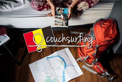 カウチサーフィンを利用して無料で宿泊 in ベルギー